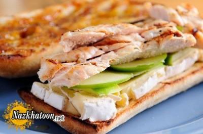 طرز تهیه ساندویچ مرغ مخصوص