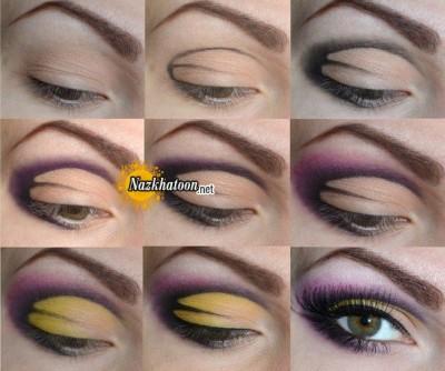 آرایش چشم – مدل 108