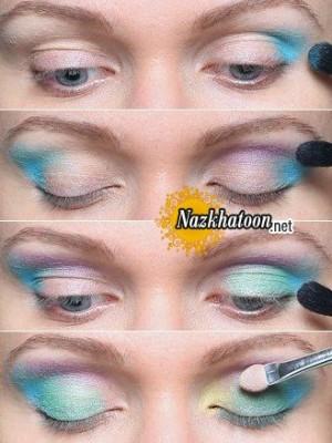 آرایش چشم – مدل 109