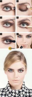 آرایش چشم – مدل 125