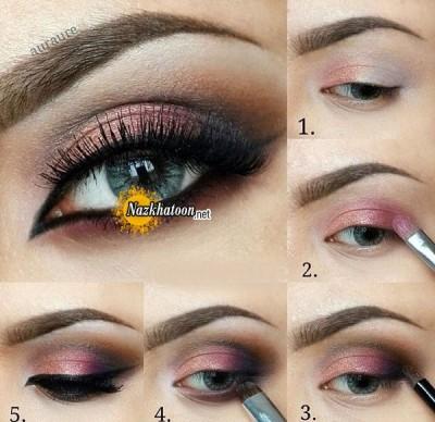 آرایش چشم – مدل 127