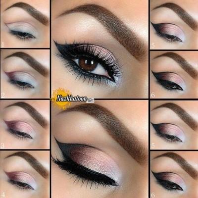 آرایش چشم – مدل 128