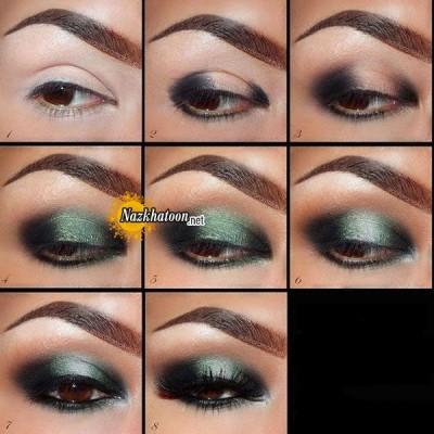 آرایش چشم – مدل 136