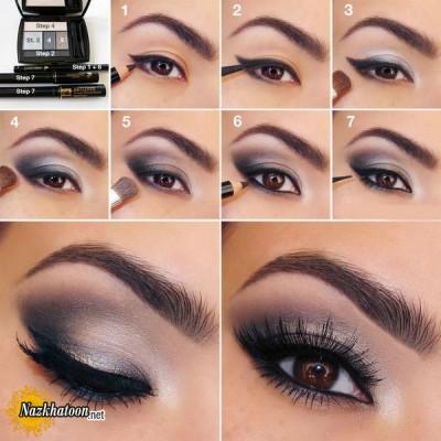 آرایش چشم – مدل 132