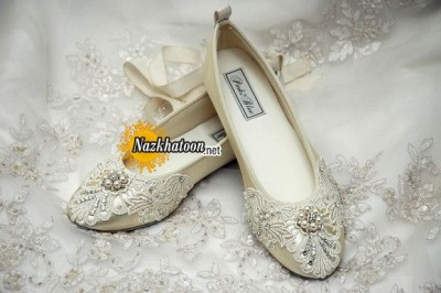 Ballet-Flats-Vintage-Lace-With-Swarovski-Crystals