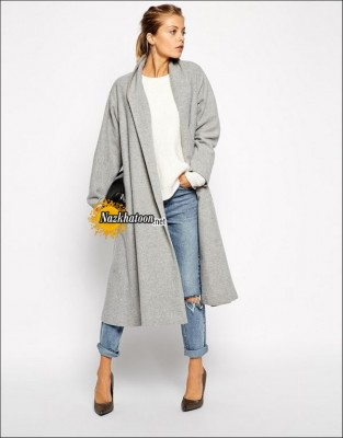Coats-For-Women-2015-Grey-Long