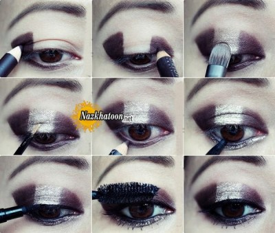 Easy-No-Blending-Glitter-Eye-Makeup-Tutorial