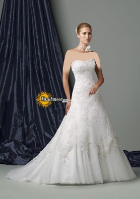 Remarkable-Strapless-Wedding-Dress-2015-Picture-Current-Gallery