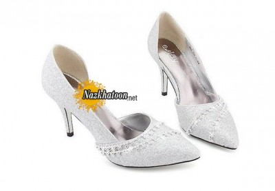Silver-High-Heel-Shoes-Dress-Wedding-Free-Shipping