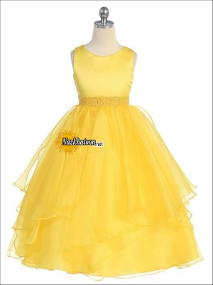 Yellow-Girls-Dresses