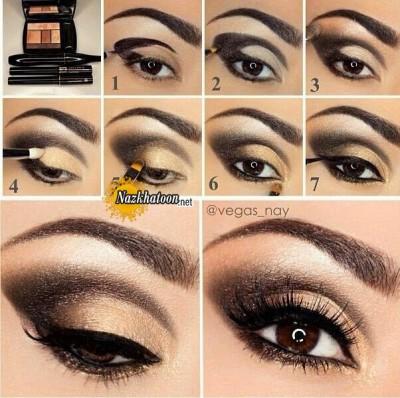 آرایش چشم – مدل 130