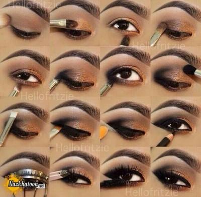 آرایش چشم – مدل 138