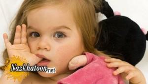 چندین عادت رایج در کودکان