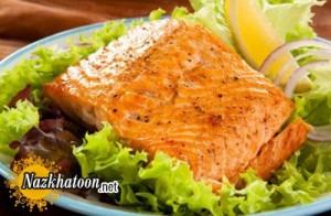 روش تهیه ماهی قزل آلا کبابی