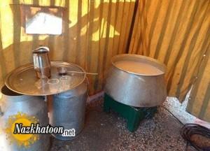 طرز تهیه شیر کاکائو نذری