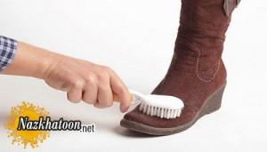 نکاتی برای تمیز کردن کفش جیر