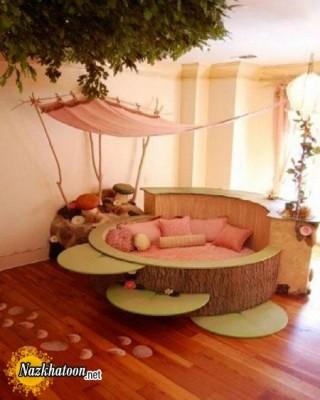مدلهای شیک دکوراسیون تخت خواب کودکان