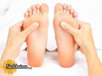 فشار کف پا برای درمان سردرد