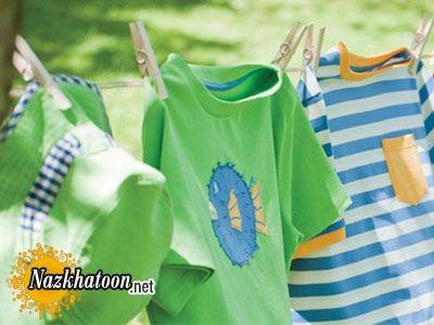 راهنمای خشک کردن انواع لباس