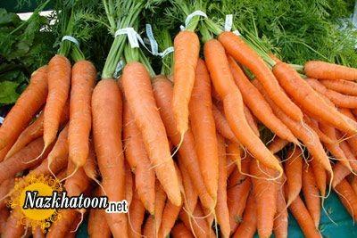 استفاده از هویج های اضافی یخچال