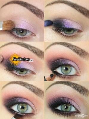آرایش چشم – مدل ۱۵۵