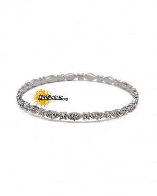 maya_lace_bangle_silver