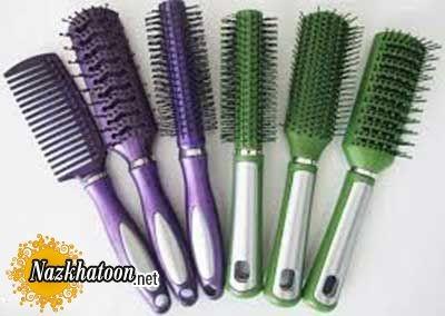 برس مناسب برای انواع مو