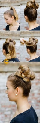 bun-and-hair-bow