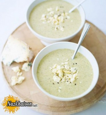 روش تهیه سوپ گل کلم و شاه بلوط