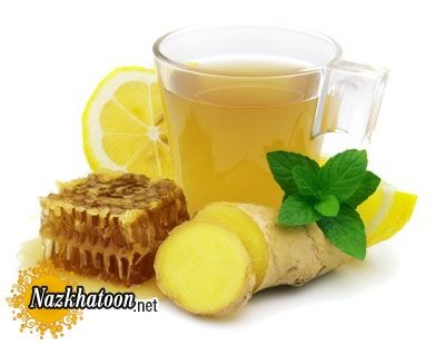 کاهش وزن و چای زنجبیل لیمو