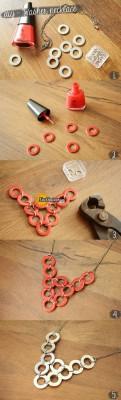 آموزش ساخت گردنبند فلزی اسپرت