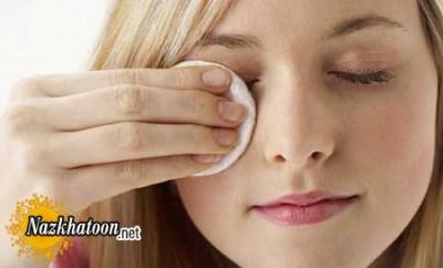 نکته هایی ریز در پاک کردن آرایش صورت