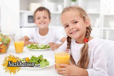 پیشنهاد عالی برای صبحانه کودک