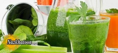 نوشیدنی سبز برای کاهش وزن
