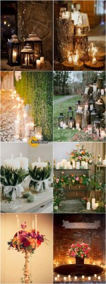 shabby-chic-wedding-decoration-ideas-with-candles