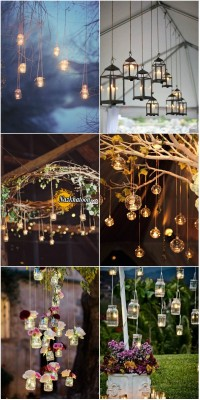 vintage-rustic-hanging-wedding-decorations-with-candle
