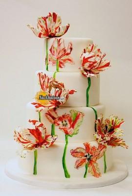 مدل کیک عقد – ۱۶