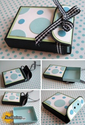 ایده جالب برای ساخت جعبه هدیه