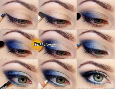 Blue-Eye-Shadow-Makeup-Tutorial