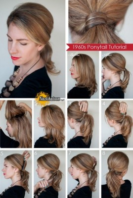 DIY-Classic-Ponytail-Hairstyle-Tutorial