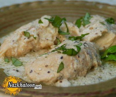 روش تهیه مرغ خامه ای ایتالیایی