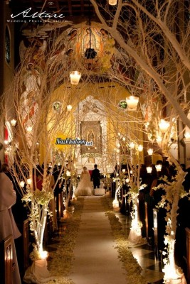 gorgeous-indoor-wedding-ceremony-ideas-with-lanterns