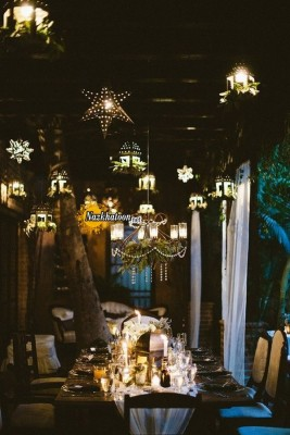 hanging-lanterns-and-stars-wedding-decor-ideas