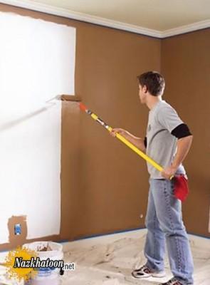 ماندگاری رنگ و نقاشی دیوار