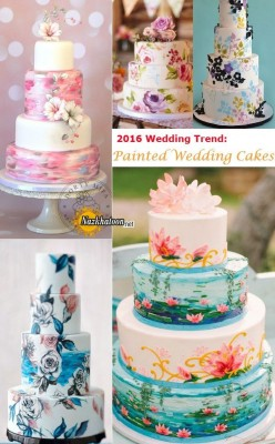 ۲۰۱۶-wedding-trend-painted-wedding-cake-ideas