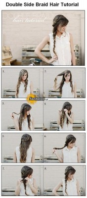 How+to+make+Double+Side+Braid+For+Hair
