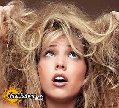چاره موی آسیب دیده چیست؟