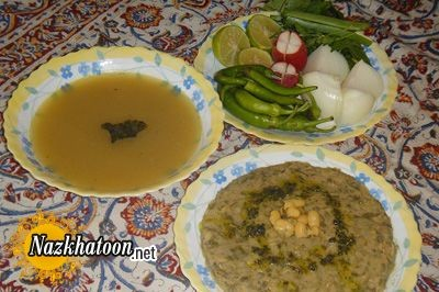 روش تهیه گوشت و لوبیا اصفهانی