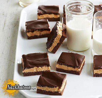 روش تهیه کیک شکلاتی و کره بادام زمینی