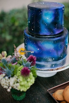 gorgeous-galaxy-cake-for-starry-night-weddings